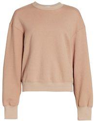 A.L.C. A.l.c. Sawtos Studded Cotton Sweatshirt - Multicolor