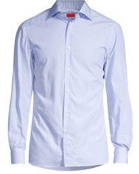 Isaia Camice Button-down Shirt - Blue