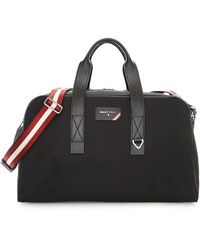 Bally Explore Flynn Weekender Duffle Bag - Black