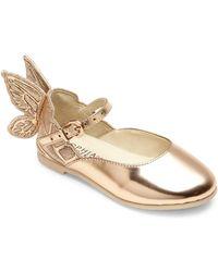 6c28a70d6 Sophia Webster - Baby's, Little Girl's & Girl's Mini Chiara Wing Leather  Flats - Rose