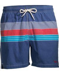 0b795399af Barbour - Men's Swim Shop Tailored-fit Mid-rise Rydal Swim Shorts - Red