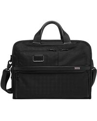 Tumi Alpha Portfolio Laptop Briefcase - Black
