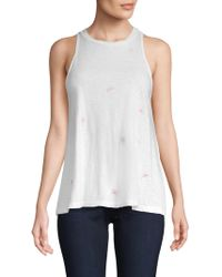 Sundry - Watermelon Cotton Tank - Lyst