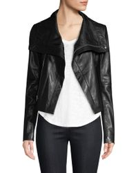 VEDA - Max Leather Jacket - Lyst