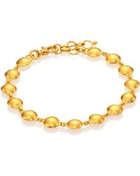 Gurhan - Lentil 24k Yellow Gold Bracelet - Lyst