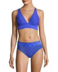 Wacoal - Halo Lace Soft-cup Bra - Lyst