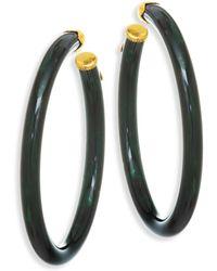 Gas Bijoux - Caftan Hoop Earrings - Lyst