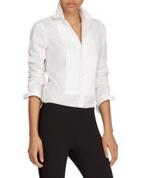 Polo Ralph Lauren - Cotton Tuxedo Shirt - Lyst