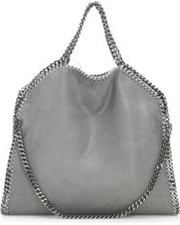 7be05cd2840 Stella McCartney - Shaggy Deer Falabella Fold-over Small Tote - Lyst