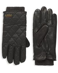 Polo Ralph Lauren Touch Quilted Field Gloves - Black