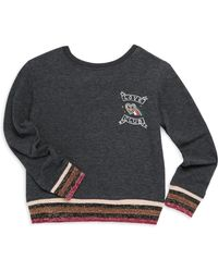 Spiritual Gangster - Todder's, Little Girl's & Girl's Love Club Crew Graphic Sweatshirt - Lyst