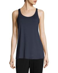 Eileen Fisher - System Jersey Tank Top - Lyst