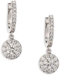 Hearts On Fire - Fulfillment Diamond Drop Earrings - Lyst