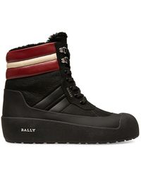 Bally Curton Faux Fur-lined Boots - Black