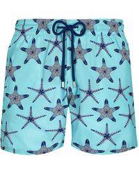Vilebrequin Starfish Print Swim Shorts - Blue