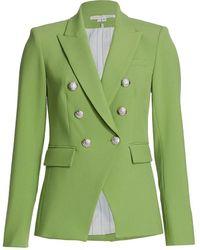 Veronica Beard Miller Dickey Jacket - Green