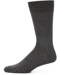 Saks Fifth Avenue - Cotton-blend Dress Socks - Lyst