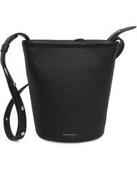 Mansur Gavriel - Mini Zip Leather Bucket Bag - Lyst