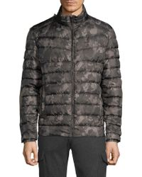 Strellson - Slim-fit Camo Puffer Jacket - Lyst
