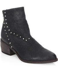 LD Tuttle - The Door Leather Ankle Boots - Lyst
