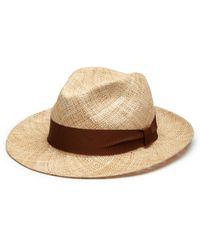 Barbisio - Bao Straw Hat - Lyst