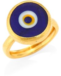 Gurhan - Evil Eye 24k Yellow Gold Ring - Lyst