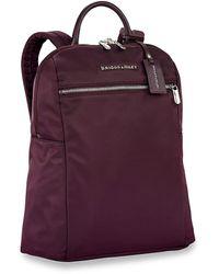 Briggs & Riley Rhapsody Slim Backpack - Purple