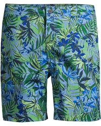 a4db4b0936 Onia Calder Stripe Swim Shorts in Blue for Men - Lyst