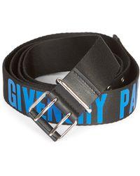 Givenchy - Roll-buckle Logo Belt - Lyst