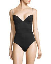 Proenza Schouler - U-wire Swimsuit - Lyst