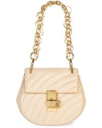 Chloé - Small Drew Quilted Leather Saddle Bag - Lyst