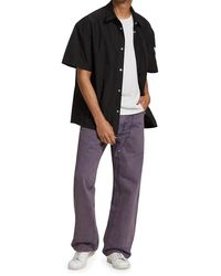 Heron Preston Overdyed Carpenter Pants - Purple