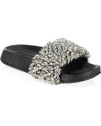 Alexander Wang - Suki Rings Sandals - Lyst