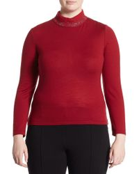 Stizzoli - Long Sleeves Knitted Top - Lyst