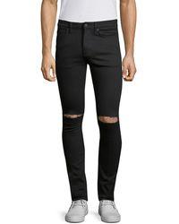Ksubi Van Winkle Slice Skinny Jeans - Black