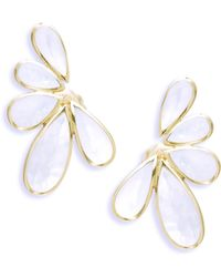 Ippolita   18k Polished Rock Candy Mother-of-pearl Earrings   Lyst
