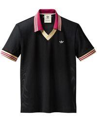 adidas Adidas Originals By Wales Bonner Mesh Polo - Black