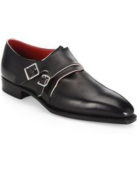 Corthay - Arca Twin Pullman French Calf Leather Piped Shoes - Lyst