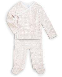 Ralph Lauren - Infant's Two-piece Kimono Top & Pants Set - Lyst