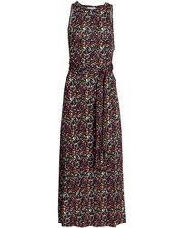 Tanya Taylor - Octavia Floral Midi Dress - Lyst