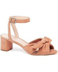 Loeffler Randall - Jill Knotted Suede Ankle-strap Sandals - Lyst