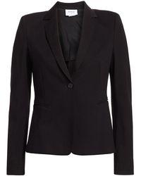 Akris Punto Elements Jersey One-button Blazer - Black