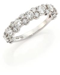Hearts On Fire - Gracious Diamond & 18k White Gold Ring - Lyst