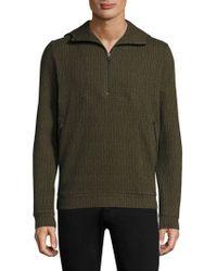 Twenty | Knitted Zip Hoodie | Lyst