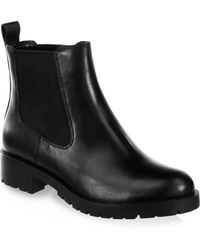 Cole Haan - Jannie Leather Booties - Lyst