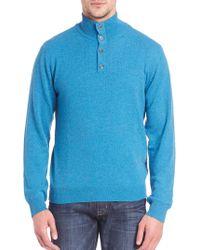 Saks Fifth Avenue - Turtleneck Cashmere Sweater - Lyst