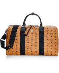 MCM - Weekender Visetos Coated Canvas Traveler Duffel Bag - Lyst