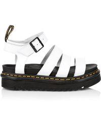 Dr. Martens Dr. Martens Blaire Hydro Womens White Sandals
