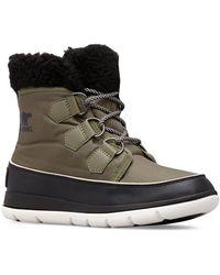 Sorel Explorer Carnival Rubber Boots - Green