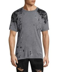 True Religion - Embellished Cotton Tee - Lyst